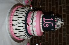 Zebra print and pink - love it