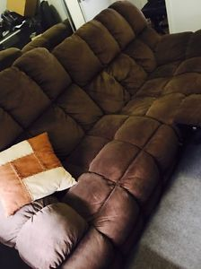 2-3 seater Couch from Harvey Norman. Chocolate Brown Churchlands Stirling Area Preview