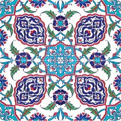 Islamic tile louvre lands far far away pinterest for Azulejos de iznik