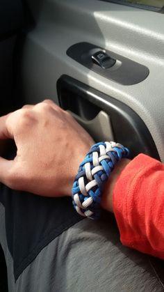 Luna's crisscross paracord bracelet