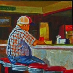 Coke+With+That?+oil+on+hardboard+6x6+$99,+painting+by+artist+Sharman+Owings