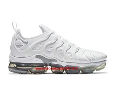 online retailer 82a53 7a946 Nike Air Vapormax Plus Chaussures Running Nike Pas Cher Pour Homme Blanc  924453-102-