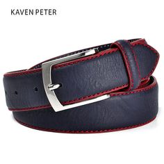 Fashion High Quality Brand Man Belt Split Leather Belt Italian Design Casual Men's Leather Belts For Jeans For Man - Mens belts - Sale Casual Belt, Men Casual, Leather Belts, Leather Men, Women's Belts, Fashion Belts, Mens Fashion, Fashion Shirts, Fashion Hair
