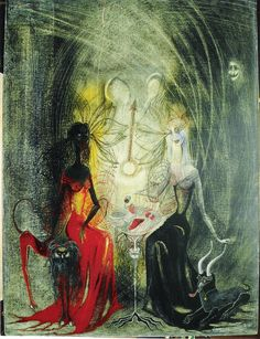 Las Brujas / The Witches by Leonora Carrington.