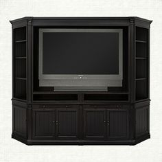 Athens Media Unit with Bookcase
