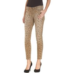Something I will regret wearing in about 4 years.  Leopard jeans by Current/Elliott
