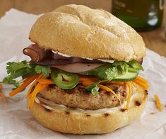 banh mi burger recip