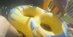 Big White Water Slide Ride in Lykia World Aquapark Antalya Turkey 5 star...