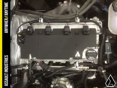 ASSAULT INDUSTRIES RED ENGINE COIL COVER POLARIS SLINGSHOT SLING SHOT