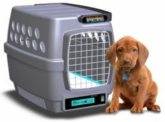 Climate Controlled Pet Carrier. $200.00. Controls environment for your pet's safety and comfort.