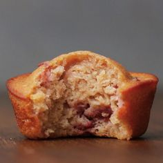 You Should Make These Adorable Strawberry Breakfast Muffins This Morning
