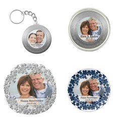 Wedding Anniversary gift ideas for your parents or new couples -#wedding #anniversary #giftideas #keychain #pillows #porseleinplate#lapelpins  Check more designs at www.zazzle.com/celebrationideas - 15% off#sale #deals sitewide. Use #coupon code: ZKICKOFF2017 - Check all #sales #coupons at bit.ly/AllSalesCoupons