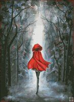 Little Red Riding Hood AK [KAI144] - $19.00 : Heaven And Earth Designs, cross stitch, cross stitch patterns, counted cross stitch, christmas stockings, counted cross stitch chart, counted cross stitch designs, cross stitching, patterns, cross stitch art, cross stitch books, how to cross stitch, cross stitch needlework, cross stitch websites, cross stitch crafts
