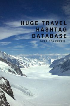 This database contains a ton of super helpful hashtags for all you travel bloggers and travel photographers. Use these travel hashtags to grow your Instagram like never before and skyrocket your blog views; get more engagement on your posts and connect with other travel bloggers and photographers. Raw Photography, Travel Photographer, European Travel, Hashtags, Kisses, Online Marketing, Traveling By Yourself, Connect, Photographers