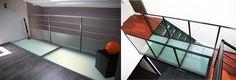 dalle de sol en verre opale Transparent, Stairs, Home Decor, Glass Floor, Paving Slabs, Opal, Stairway, Decoration Home, Room Decor