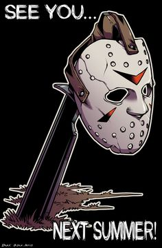 Jason Voorhees/Friday The Slasher Movies, Horror Movie Characters, Horror Movies, Jason Friday, Friday The 13th, Jason Voorhees Drawing, Horror Artwork, Horror Icons, Arte Horror