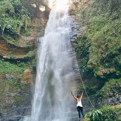 Descenso en torrentismo por la cascada de Juan Curi San Gil, Waterfall, Outdoor, Saints, Extreme Sports, Travel Photography, Bucaramanga, Volcanoes, Waterfalls