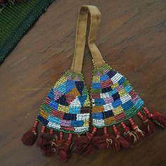 1850s Winnebago Indian Beaded Decorative Tassels