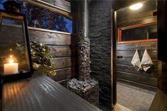 Arkihuolesi kaikki heitä--Every day worries will be thrown away with the hot steam water on a sauna bentch :)