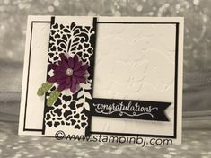 So in Love, So Detailed Thinlits, Fluttering embossing folder, Succulent Framelits - all from Stampin' Up! Die Cut Cards, Love Cards, Pretty Cards, Wedding Anniversary Cards, Wedding Cards, Sympathy Cards, Greeting Cards, Stampin Up Anleitung, Love Stamps