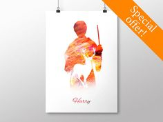 PRINTABLE Harry Potter Poster - Harry Potter Print