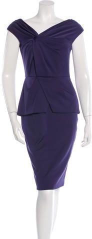 Lela Rose Sleeveless Sheath Dress w/ Tags Sheath Dress, Peplum Dress, Lela Rose, Tags, Stylish, Dresses, Fashion, Vestidos, Moda