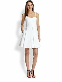 Rebecca Minkoff - Cielo Pleated Cotton Dress - Saks.com