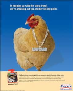 National Chicken Counsel Ad by The Cyphers Agency