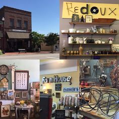 The historic shopping district in Clinton did not disappoint! Seriously you have to go visit that adorable place!  First see Jane  and her super sweet self at Historic Clinton Antiques then grab a scoop of ice cream at the Depot Sandwich Shop and shop through Burrville Antiques for some one of a kind pieces but don't forget to go see Redoux because they have some great furniture and the chalk paint to go with it! Thanks for a very pleasant afternoon Clinton!  #clintonshopping…