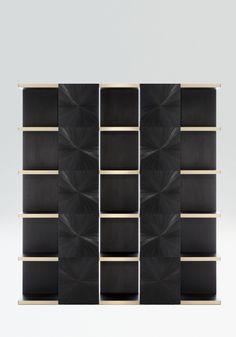 Freud bookcase by Armani/Casa