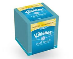 Kimberly-Clark Professional Kleenex Cool Touch Facial Tissue& 27 Per Carton - Furniture Runny Nose, Tissue Boxes, Facial Tissue, Brand Names, Allergies, Packaging Design, Lotion, Personal Care, Touch