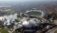 munich olympic stadium - Google Search Munich, Olympics, Opera House, Sci Fi, Google Search, Studio, Building, Inspiration, Travel