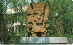 Tlaloc the Rain God, Museum of Anthropology, Mexico, D. F., via Flickr.