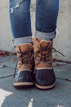 Brown Fur Lined Duck Boot Blizzard-05 – UOIOnline.com: Women's Clothing Boutique