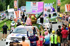 Tour de France 2016 - 22/07/2016 - Etape 19 - Albertville / Saint-Gervais Mont Blanc (146 km) - caravane Carrefour