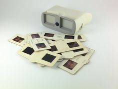 Vintage Stereoscope - 3 Stereo Photography Stereo Slide Viewer, Soviet Film Viewer White Grey 35 mm Accessory For Photography CCCP Vintage Cameras, Vintage Photos, 3d Foto, 3d Camera, Three Dimensional, Usb Flash Drive, Vr, David, Photography