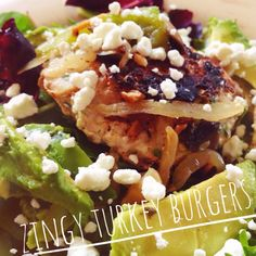 'Zingy' Turkey Burger Recipe! Gluten Free, Paleo, healthy, simple, delicious! Oh, and ZINGY! ;)
