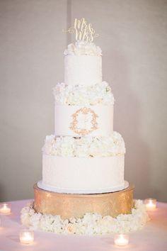 photo: Hunter Ryan Photo; wedding cake idea