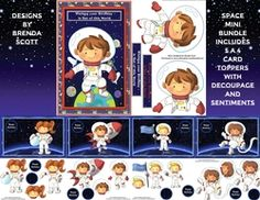 Space Mini Bundle on Craftsuprint - View Now! Card Making, Comics, Space, Mini, Boys, Cards, Design, Floor Space, Baby Boys