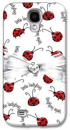 Galaxy Case of Little Ladybug Treats Ladybug Picnic, Ladybug Garden, Ladybug Party, Lady Bug, Galaxy S4 Case, To My Mother, Love Bugs, Pet Accessories, Miraculous Ladybug