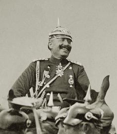 An amused Kaiser Wilhelm II. Wilhelm Ii, Kaiser Wilhelm, World War One, First World, German Royal Family, Germany And Prussia, Age Of Empires, German Uniforms, Military Pictures