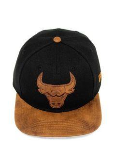 Boné New Era Strapback Chicago Bulls Preto 76b399efa33