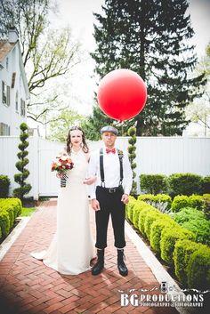 Vintage circus wedding theme, Barn Wedding, Rustic Wedding, Bride and Groom, Photo by BG Productions.