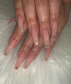 In search for some nail designs and ideas for your nails? Here's our list of must-try coffin acrylic nails for cool women. Best Acrylic Nails, Summer Acrylic Nails, Acrylic Nail Designs, Long Nail Designs, Summer Nails, Aycrlic Nails, Swag Nails, Hair And Nails, Coffin Nails