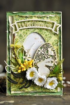 Zinc plot: well then, Easter Quilling, Easter Greeting Cards, Easter Card, Card Creator, Diy Ostern, Card Sentiments, Pop Up Cards, Card Making Inspiration, Pretty Cards