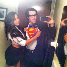 Super Alex and Sierra Lane :-) Such geeks, love them! Alex and Sierra from The X-Factor USA 2013.