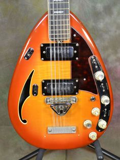 1968 Vox Starstream XII 12 String Hollow Electric Guitar