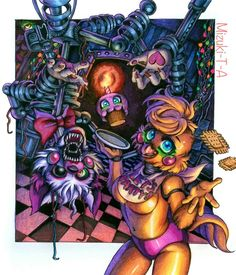 How to feed her / FNaF 2 by Mizuki-T-A.devian... on @DeviantArt