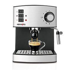 Oferta: 90.91€ Dto: -30%. Comprar Ofertas de Mini Moka CM-1821 - Cafetera espresso, 15 bar, 850 W, 1,6 l barato. ¡Mira las ofertas!