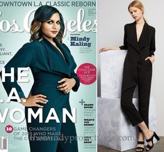 Mindy's black jumpsuit from the cover of Los Angeles magazine!Catherine Quin Nouvel Jumpsuit - $1,025